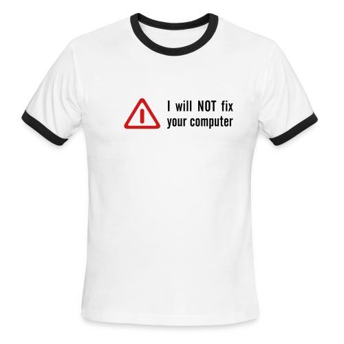 Sorry t-shirt - Men's Ringer T-Shirt