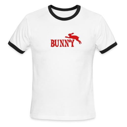 bunny - Men's Ringer T-Shirt