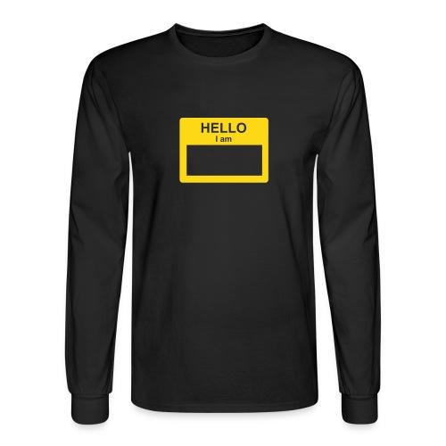 NaME t - Men's Long Sleeve T-Shirt