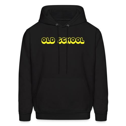 old school hoodie sweat - Men's Hoodie
