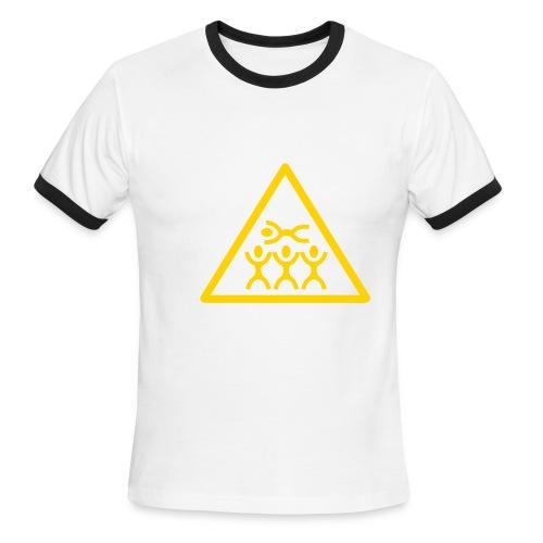 skater tee - Men's Ringer T-Shirt