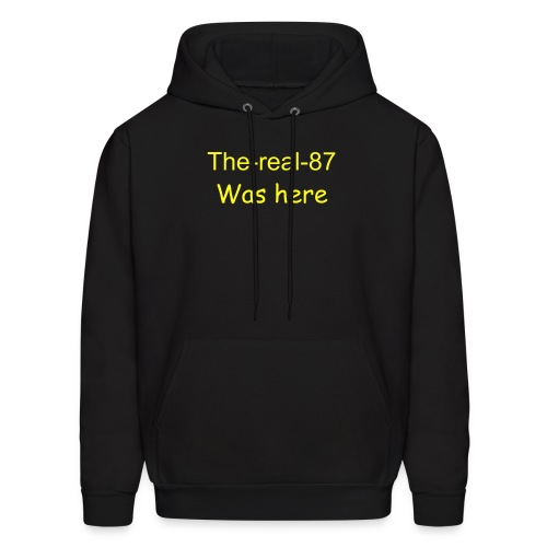 the-real-87 was here Hooded Sweater - Men's Hoodie
