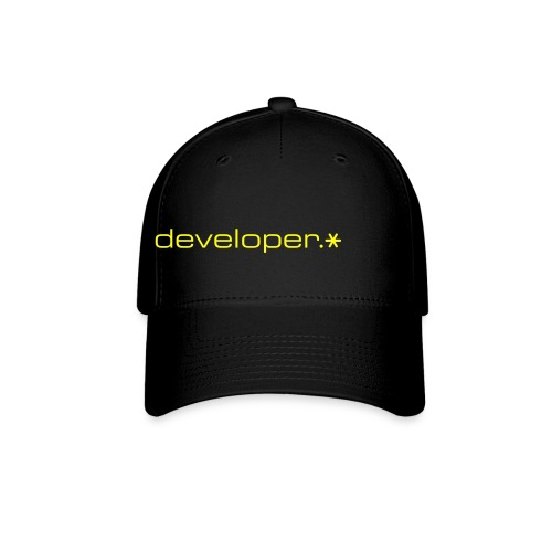 Black Cap w/ Yellow d.* Logo - Baseball Cap