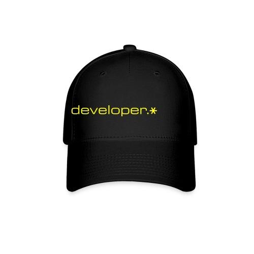 Black Cap w/ Yellow d.* Logo - Baseball Cap