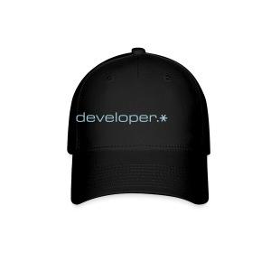 Black Cap w/ Blue d.* Logo - Baseball Cap