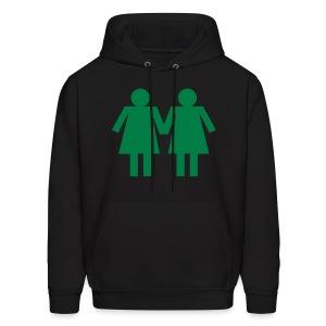 I like Girls.... - Men's Hoodie