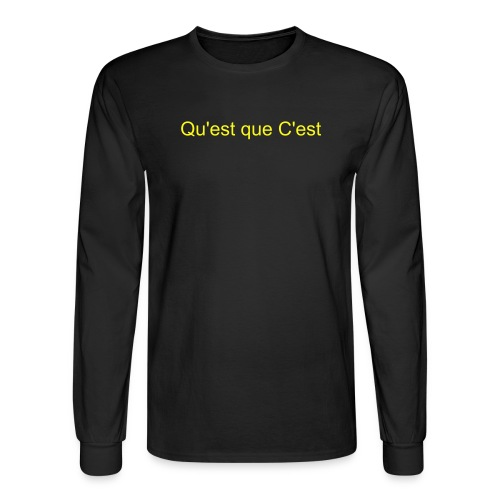 Men's Long Sleeve T-Shirt - It's got us written on it. C'mon.