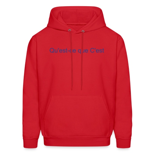 Men's Hoodie - It's a Sweat-shirt. It's got our name on it. Put two and two together.