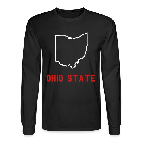 O State - Men's Long Sleeve T-Shirt