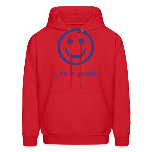Life is good Hooded Sweater - Men's Hoodie