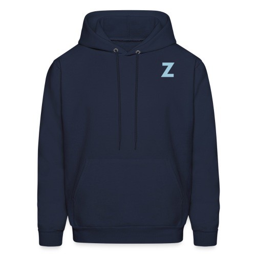 Z front and Team Zissou Back - Men's Hoodie