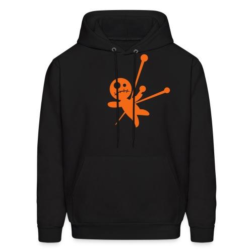 Unisex Voodoo Hoodie-blck/orng - Men's Hoodie