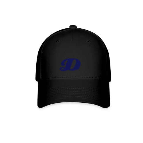 Black D Hat - Baseball Cap