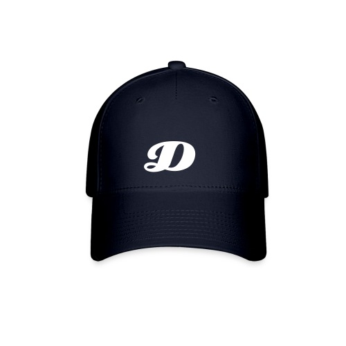 Navy Blue D Hat - Baseball Cap