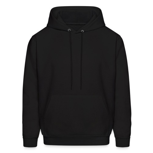 hooded sweat . black - Men's Hoodie