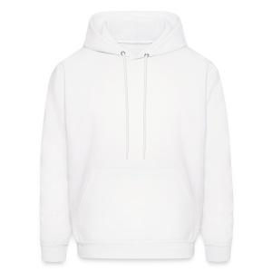 hooded sweat . white - Men's Hoodie
