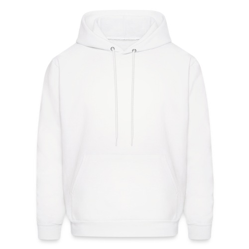 hooded sweat . white - Men's Hoodie