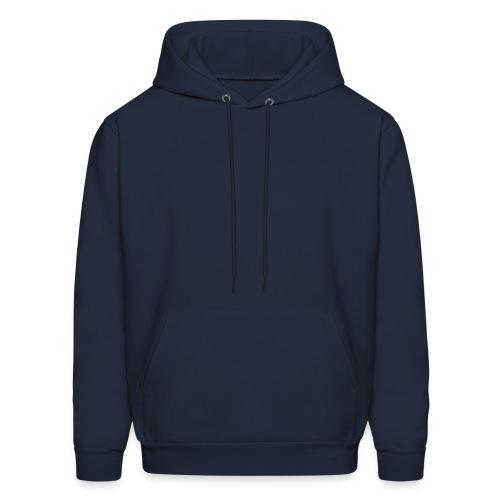 hooded sweat . navy - Men's Hoodie