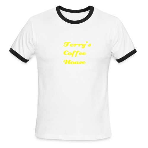 coffee house t-shirt - Men's Ringer T-Shirt