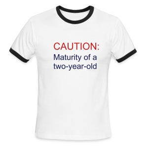 Maturity - Men's Ringer T-Shirt