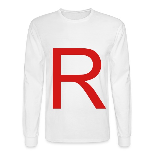 Team Rocket Casual White Long Sleeves - Men's Long Sleeve T-Shirt