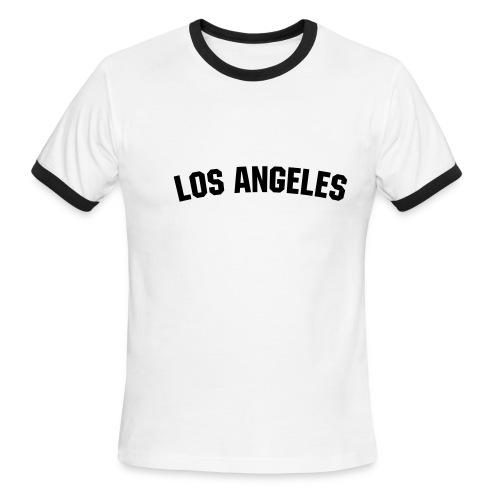 Ringer T red and white - Men's Ringer T-Shirt