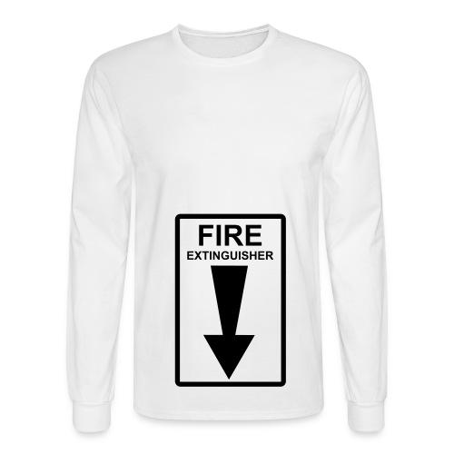 white 1 - Men's Long Sleeve T-Shirt