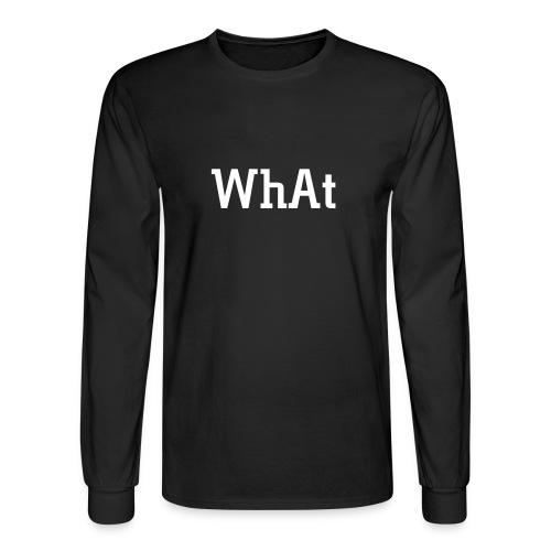 W.S. Front/Back - Men's Long Sleeve T-Shirt
