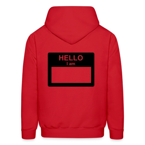 Hello... my name is - Men's Hoodie
