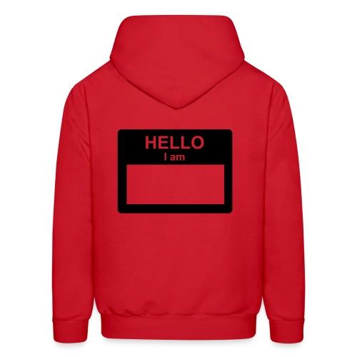 Hello... my name is - Men's Hoodie