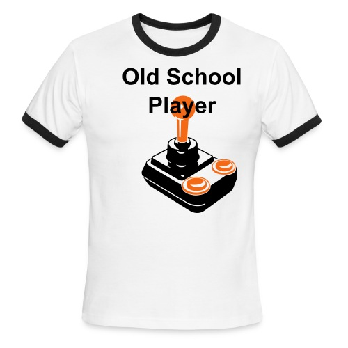 Oldschool Player - Men's Ringer T-Shirt
