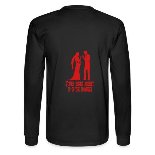 Men's Long Sleeve Black - Men's Long Sleeve T-Shirt