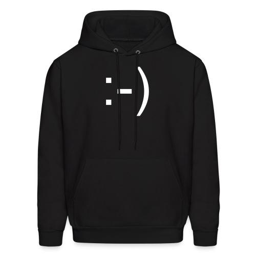 Smiley :-) Hoodie - Men's Hoodie