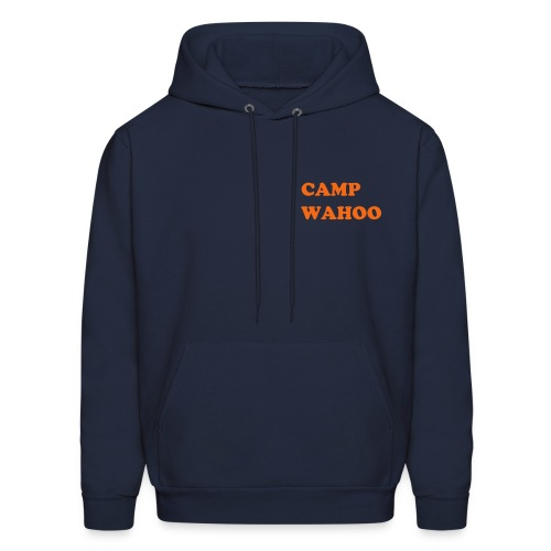Back:we pitch a big tent - Men's Hoodie
