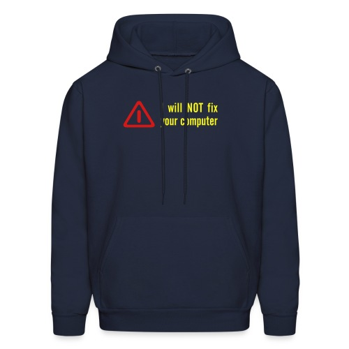 Fix Your Computer Sweatshirt - Men's Hoodie