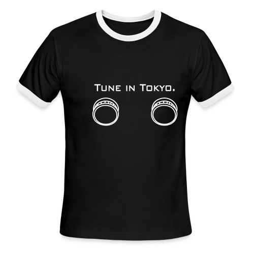 turn it on - Men's Ringer T-Shirt