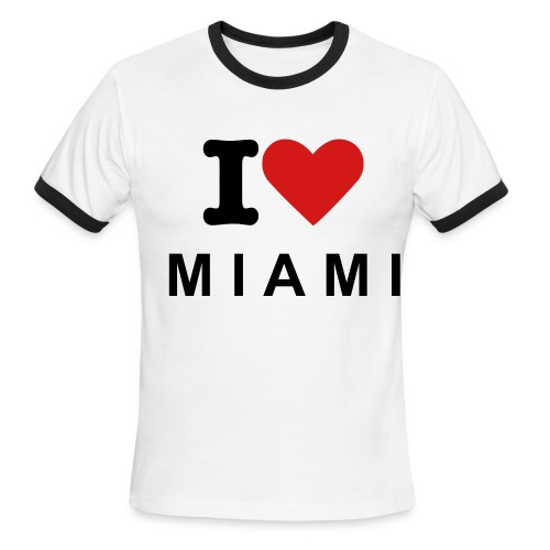 Miami Shirt - Men's Ringer T-Shirt