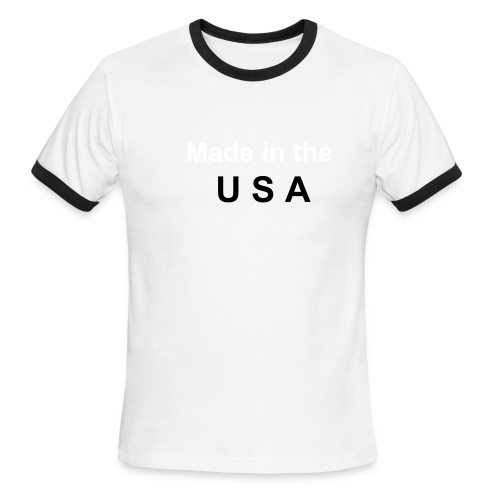 USA Shirt - Men's Ringer T-Shirt