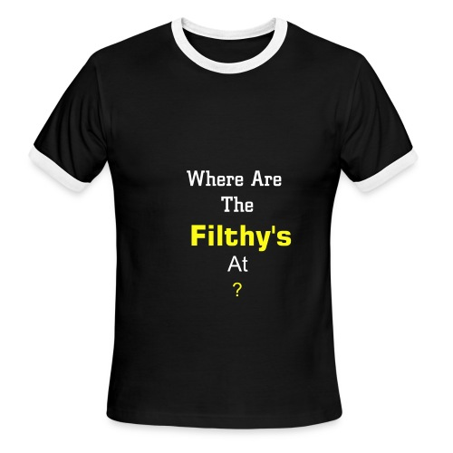 Filthy's - Men's Ringer T-Shirt