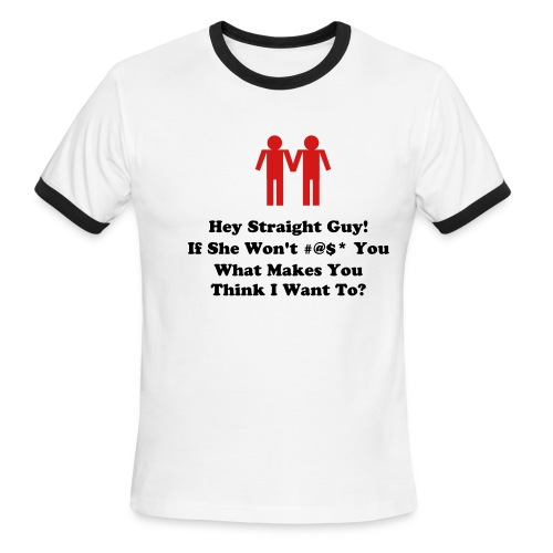 What Makes You Think... - Men's Ringer T-Shirt