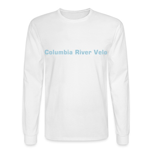 CRV Men's Longsleeve T-white - Men's Long Sleeve T-Shirt