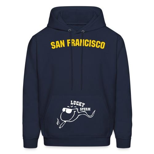 Sun, Sex 'N' San Franasisco - Men's Hoodie