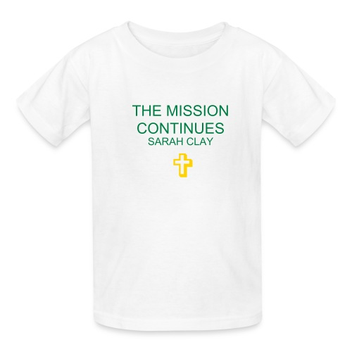 Children's The Mission Continues T-shirt - Kids' T-Shirt