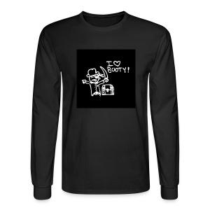 i like booty - Men's Long Sleeve T-Shirt