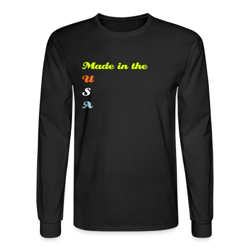 Made in the USA - Men's Long Sleeve T-Shirt