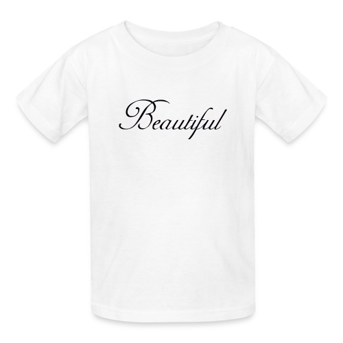 Beautiful - Kids' T-Shirt