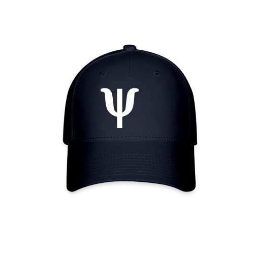 Psi Pi Hat-navy - Baseball Cap