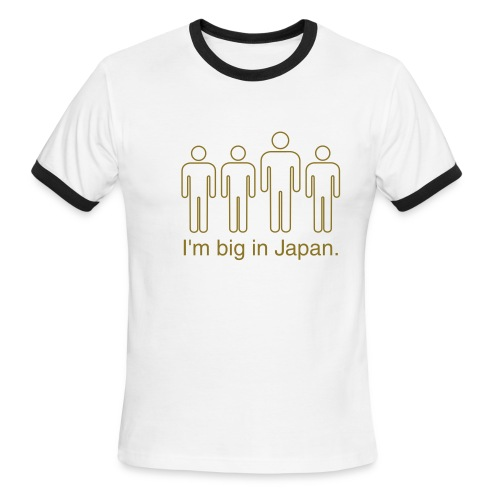 Big in Japan - Men's Ringer T-Shirt