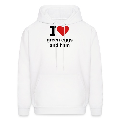 green eggs and ham sweatshirt - Men's Hoodie