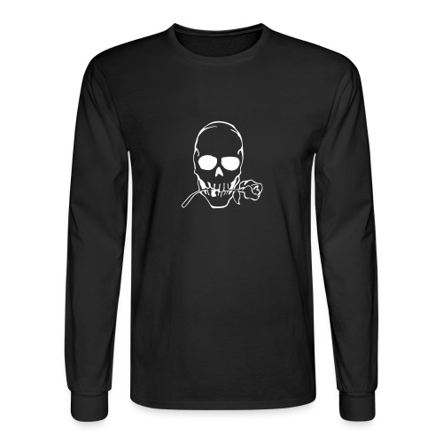 Skulls long sleeve t-shirt (black) - Men's Long Sleeve T-Shirt